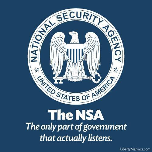 NSA Listens with code(love)