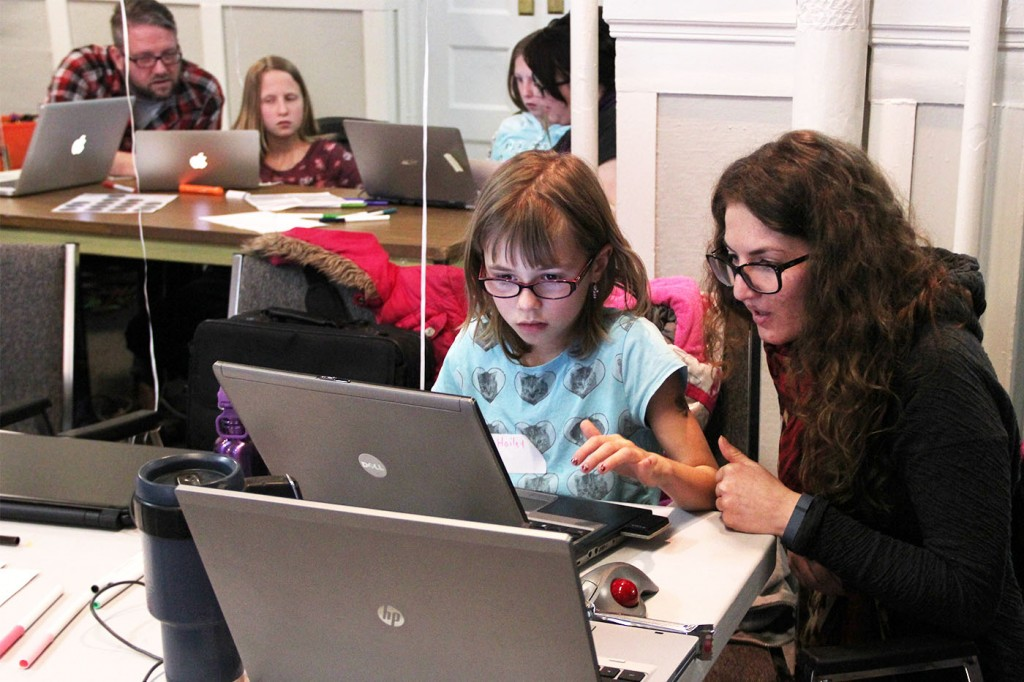 Reaching out to the Next Generation with code(love)